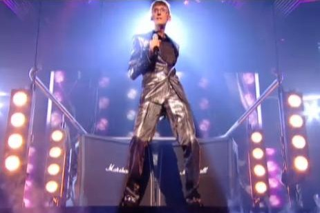 X Factor Johnny Rock