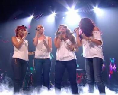 Little Mix X Factor Semi Final