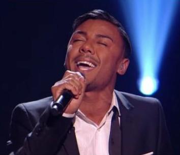 Marcus Collins X Factor Semi Final