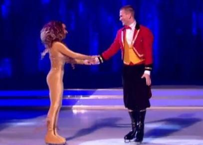 Dancing on Ice Matthew Wolfenden