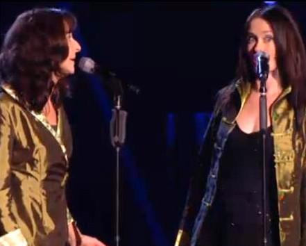 The Voice barbara and Carla