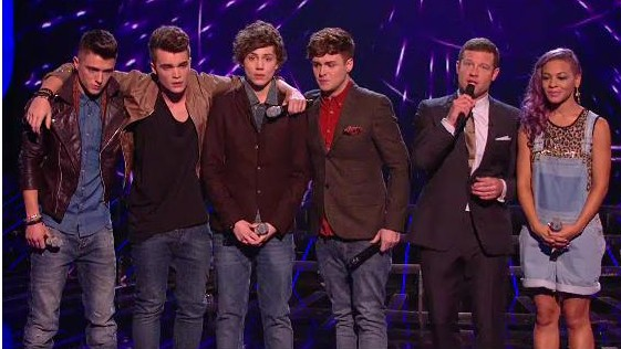 X Factor 4th Elimination