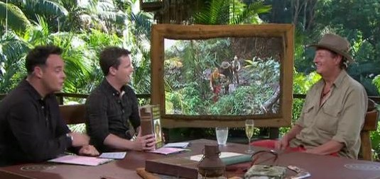 I'm A Celebrity Eric Bristow Eliminated