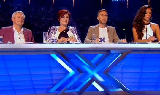 X Factor 2013 Judges