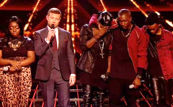 X Factor Hannah and Rogh Copy Sing Off