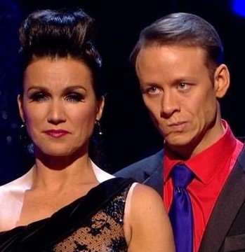 Strictly Susanna Reid Semi Final