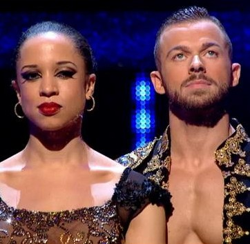 Strictly Natalie Gumede Semi Final