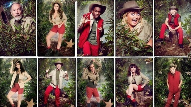 I'm a Celebrity Contestants