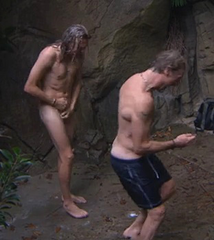 I'm A Celebrity Jimmy Foggy Shower