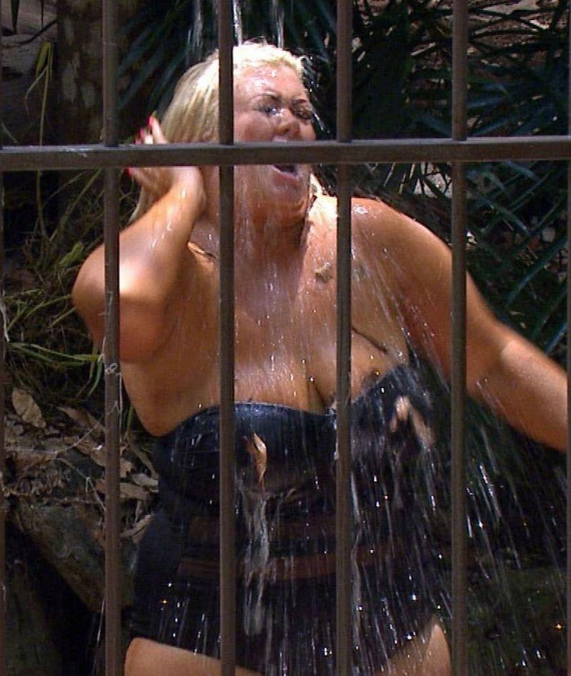 I'm a Celebrity Gemma Collins shower