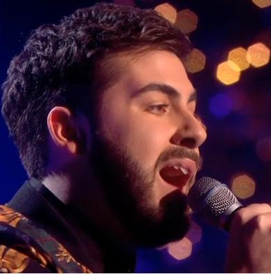 X Factor Final Andrea Fustini