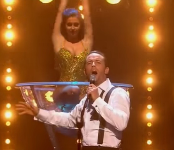 X Factor Jay James Nipple Slip